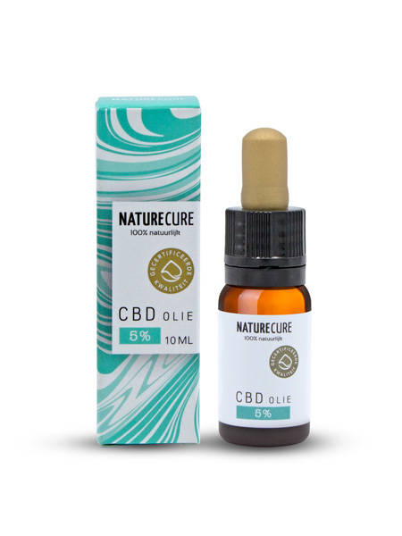 CBD olie 10 ml 5%