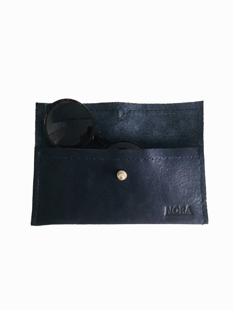 EYEWEAR CASE DARK BLUE