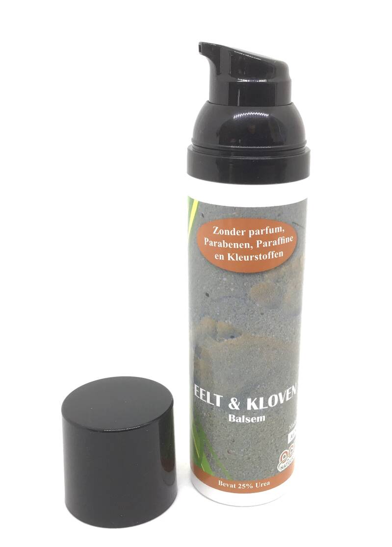 Eelt & Kloven balsem, pomp-dispenser 75 ml.