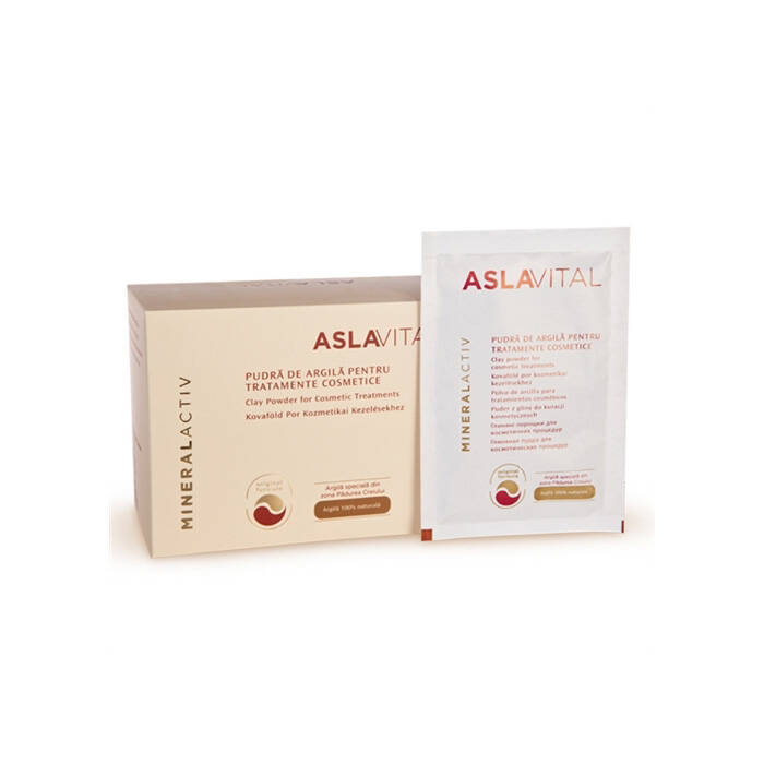 Aslavital Clay Powder for Cosmetic Treatments