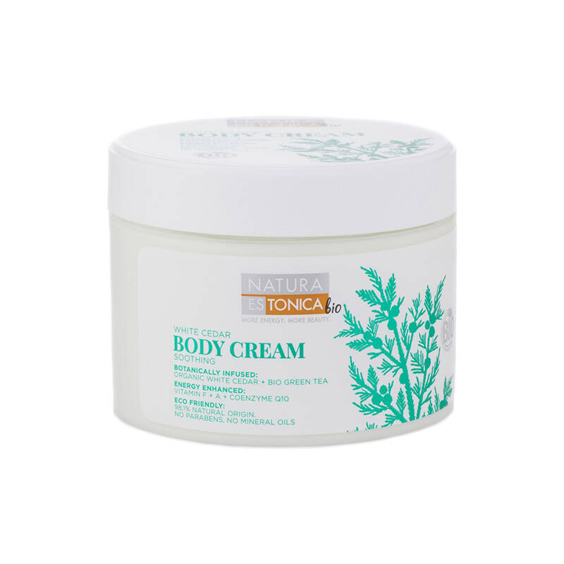 Natura Estonica Bio White Cedar Soothing Body Cream
