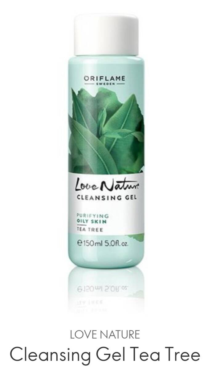Love Nature Cleansing Gel TeaTree