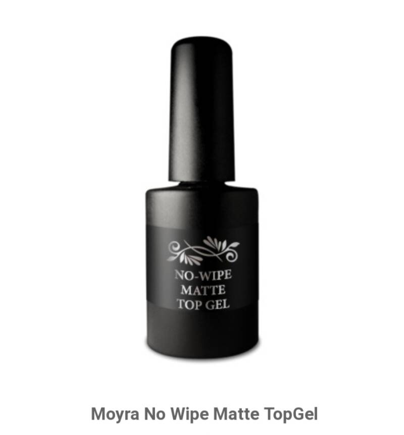 Moyra no wipe matte topcoat