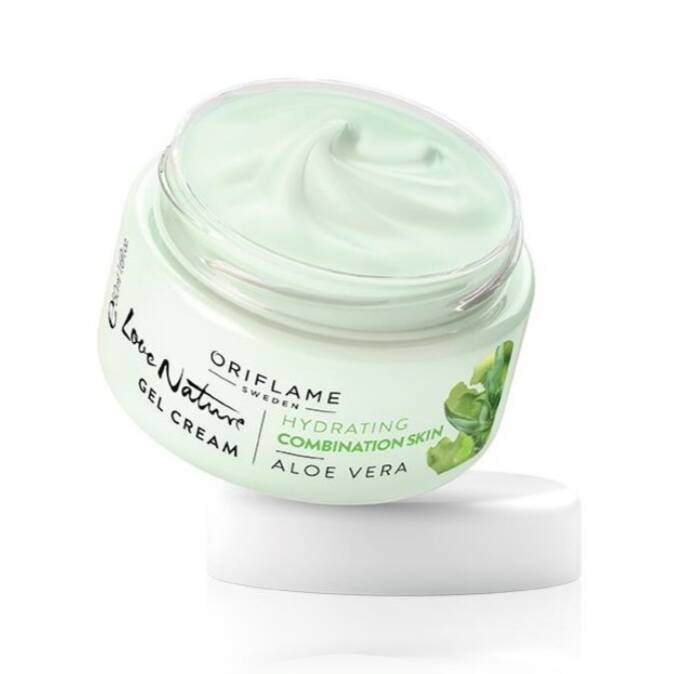 Oriflame love nature gel cream aloë vera