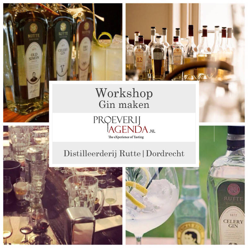 Workshop Gin maken