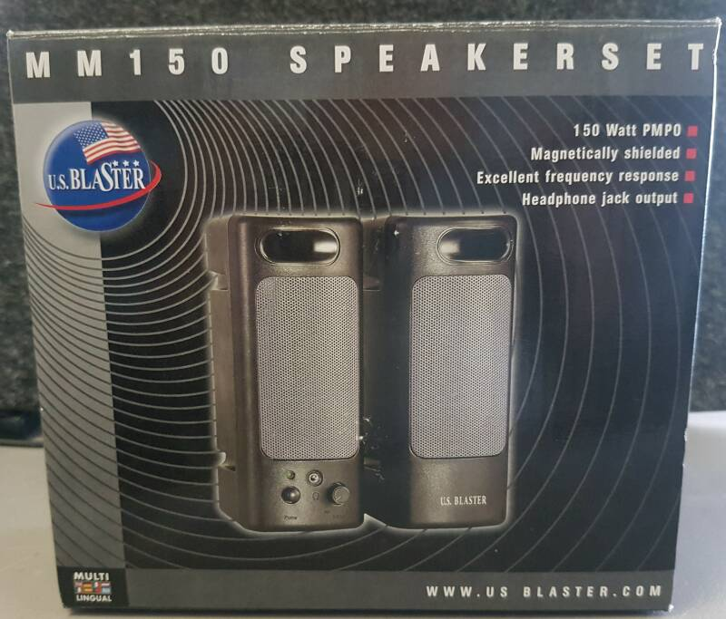 Speakerset MM 150 U.S. Blaster