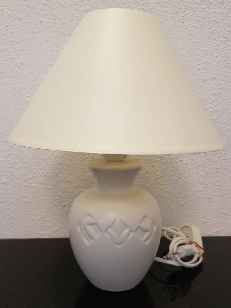 Schemerlamp wit