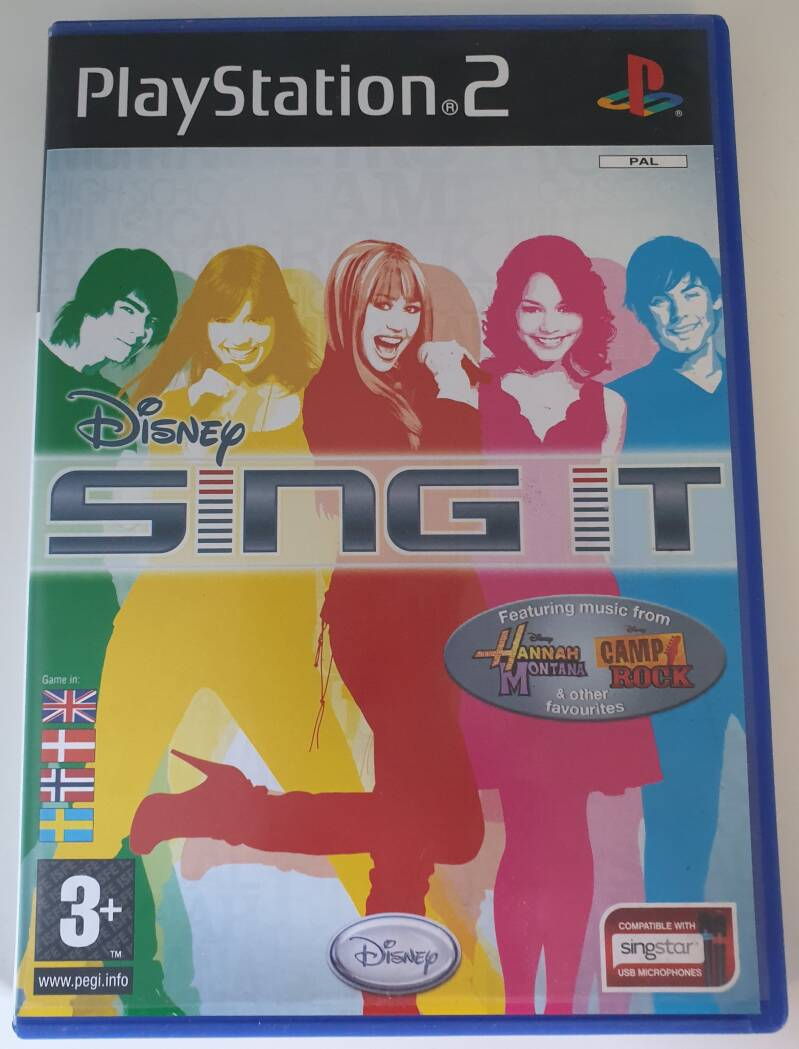Sing it Disney voor de playstation 2