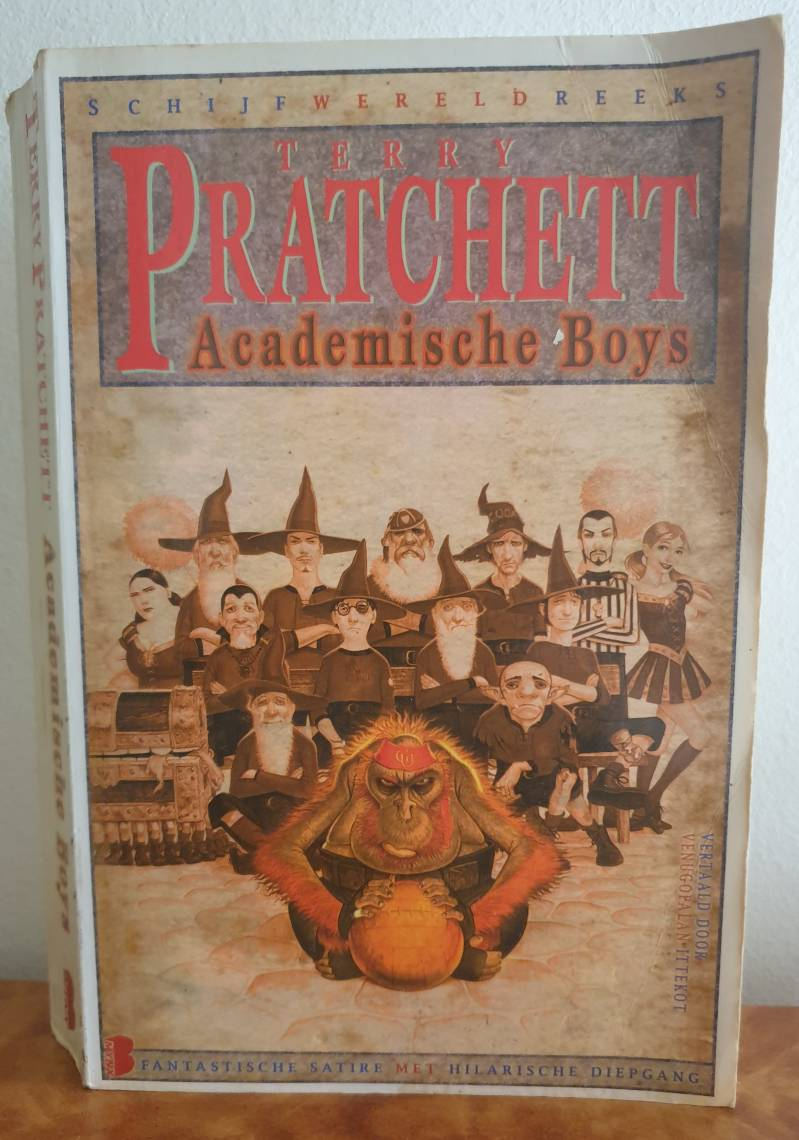 Terry Pratchett - Academische boys