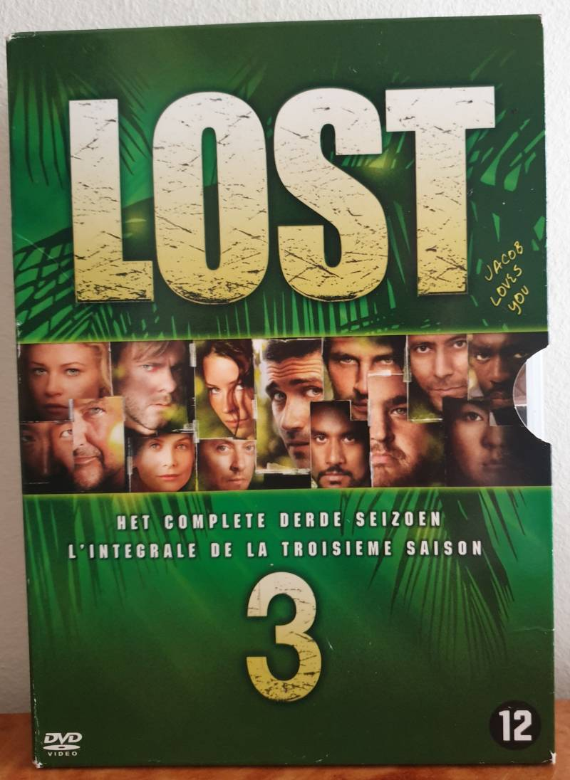 Lost dvd box seizoen 3