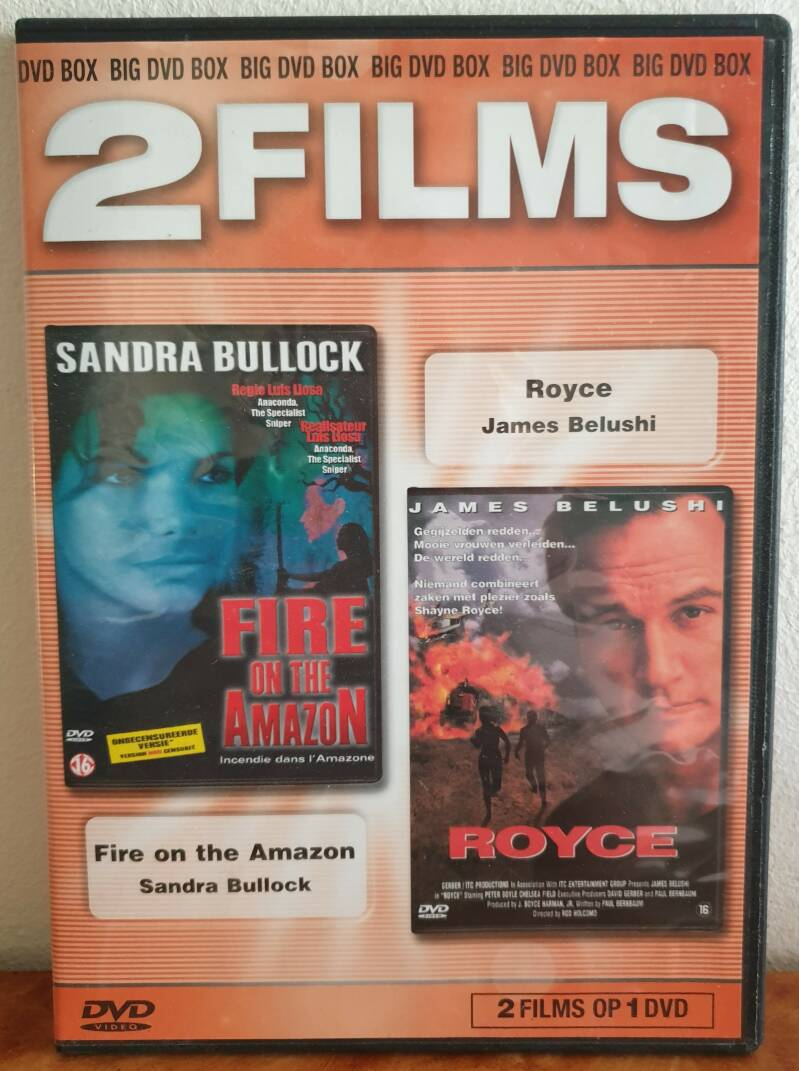 2 films - Fire of the Amzone  & Royce