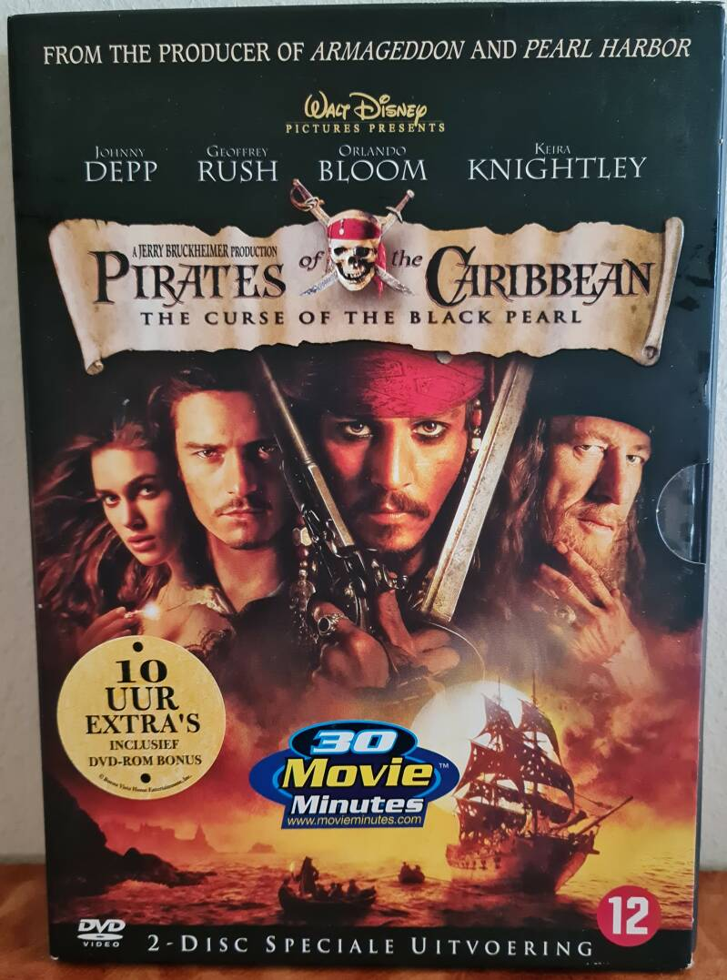 Pirates of the Caribien -The curse of the black pearl