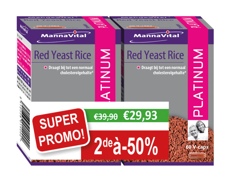 Duopack Red Yeast Rice Platinum 2x60 v-caps