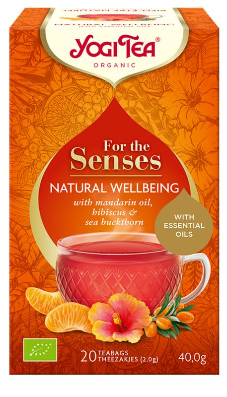 Yogi tea for the senses natural wellbeing 20 zakjes
