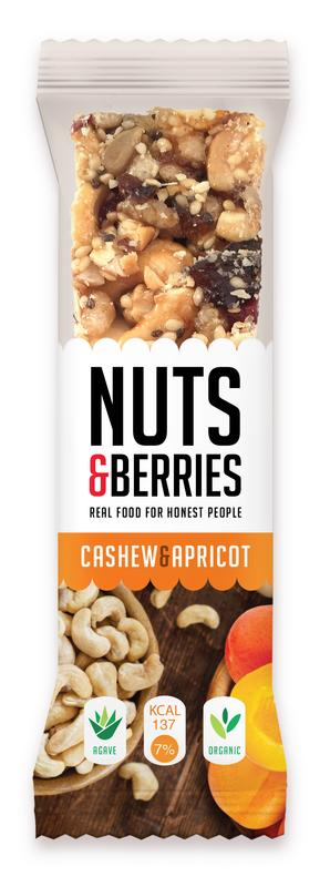 nuts&berries cashew&apricot 30g