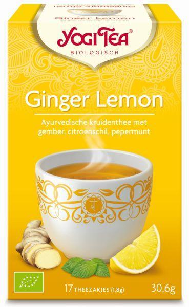 Yogi Tea Ginger Citroen