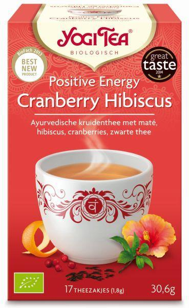 Yogi Tea Cranberry Hibiscus