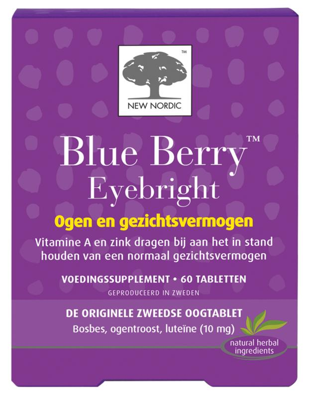 New nordic blue berry 120 tabl.