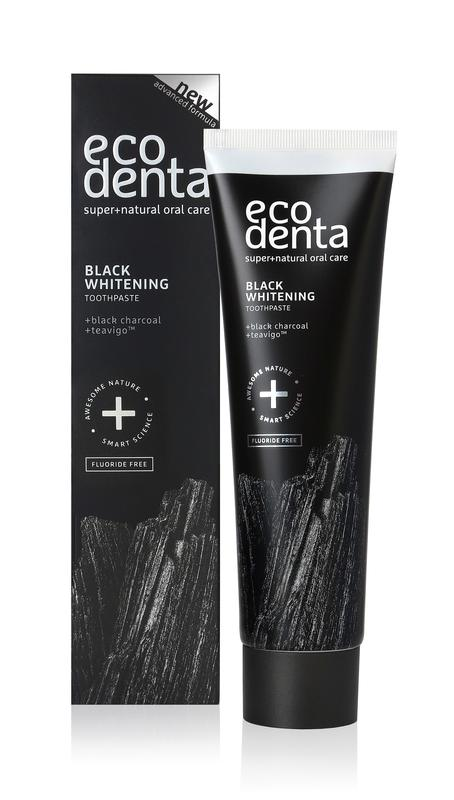EcoDenta black whitening toothpaste 100ml