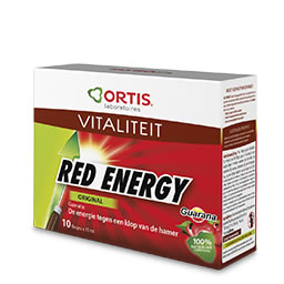 Ortis Red energy bio 10x15ml PL33/47