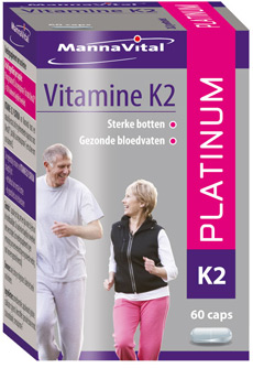 Vitamine K2 platinum 60 caps