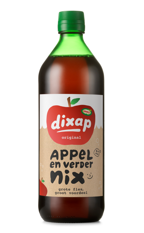 DIXAP appel 750ml 100% fruit (met schenksluiting)