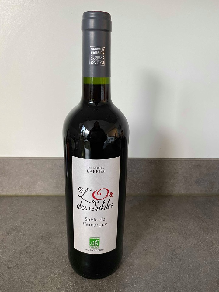 Barbier l' Or des Sables Rood 75cl 2018