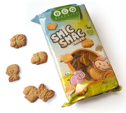 Eco Biscuits Smic Smac Natural