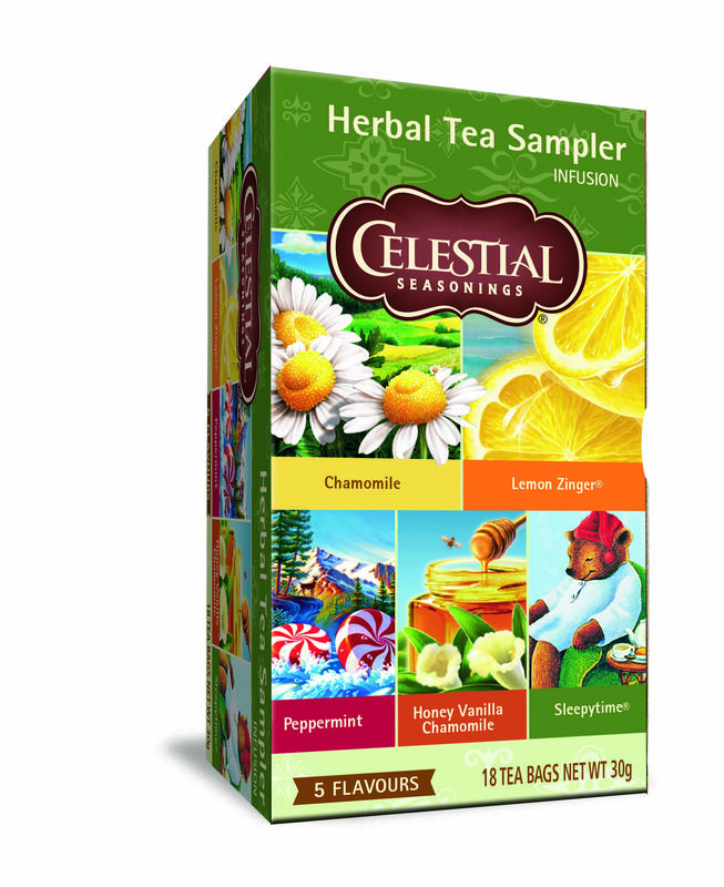 CelistialHerbal tea sampler