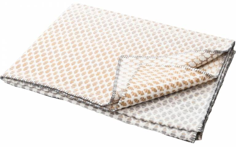 Plaid DECO throw fishnet