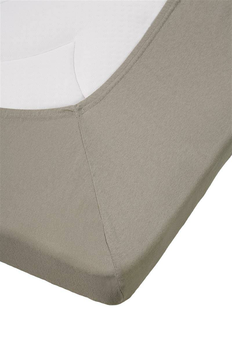 Beddinghouse topper hoeslaken Percale Taupe