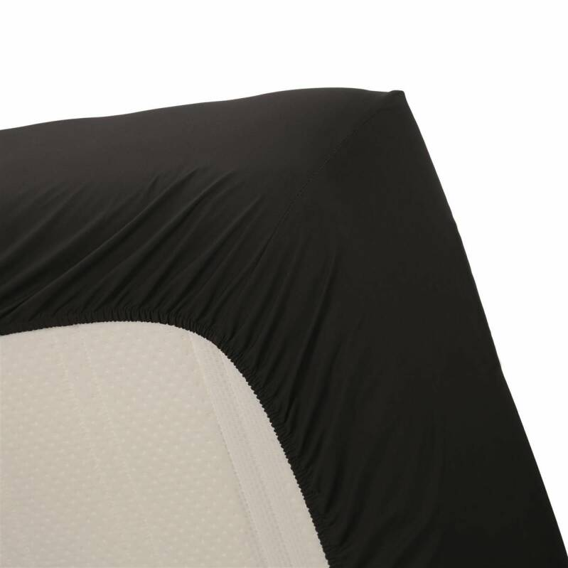 Beddinghouse hoeslaken Percale Black