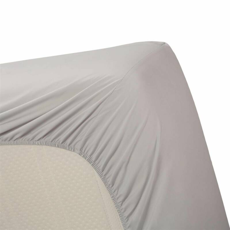 Beddinghouse hoeslaken Percale Light Grey