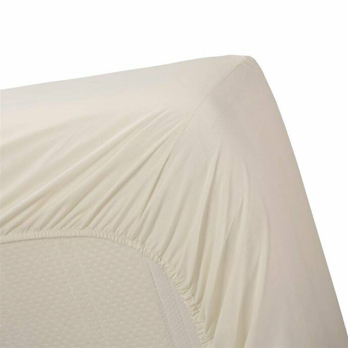 Beddinghouse hoeslaken Percale Off-white