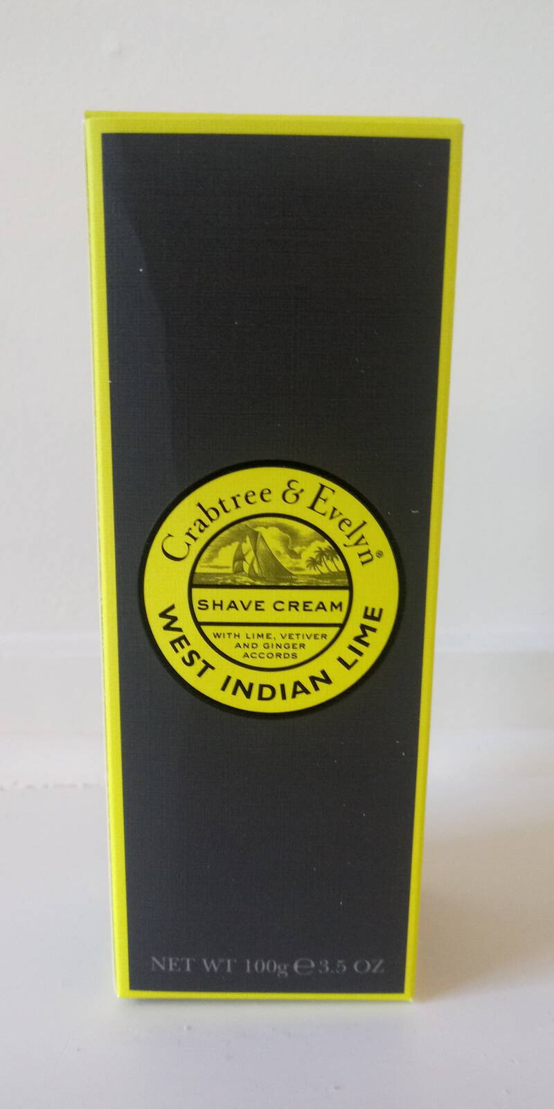 Men - West Indian Lime shave cream