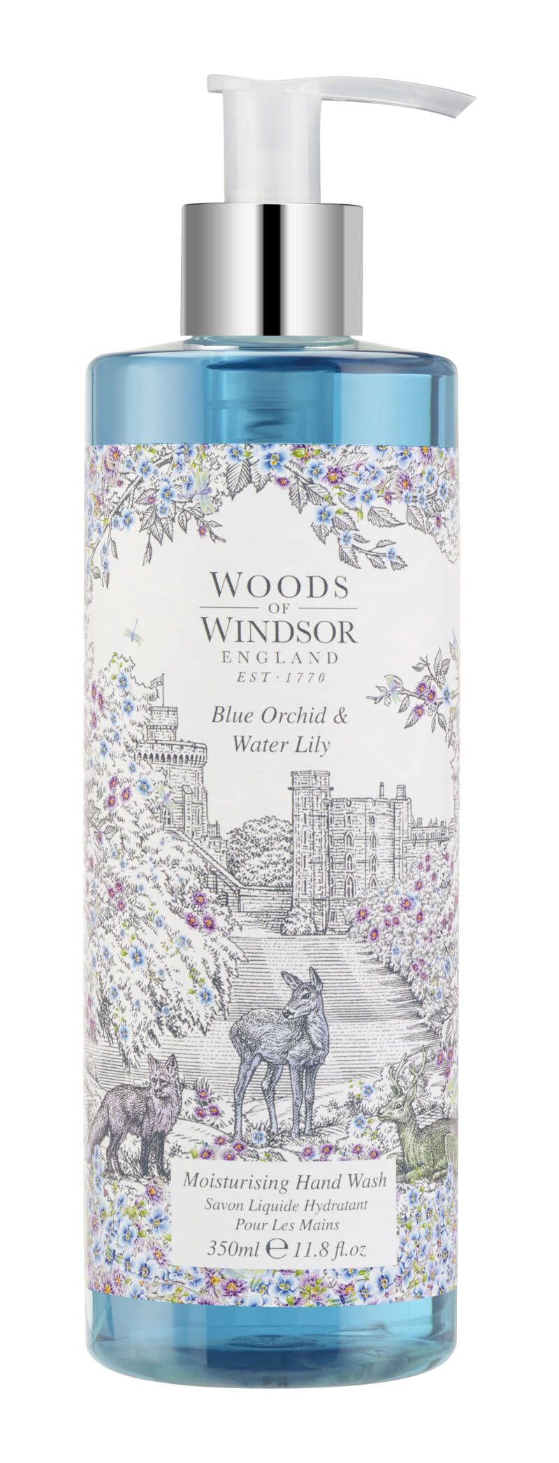 Blue Orchid and Water Lily Hand wash 350 ml