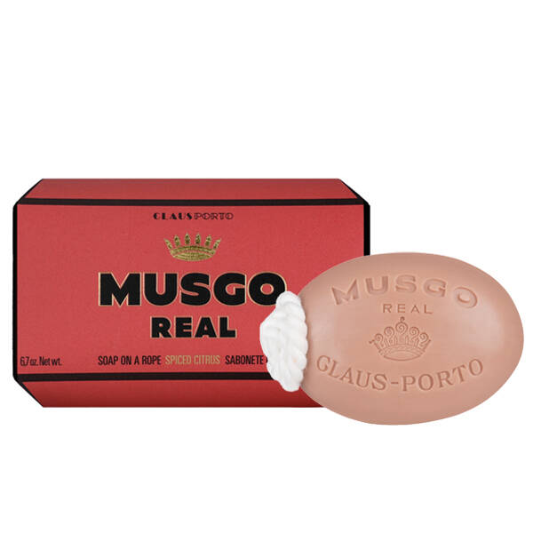 Musgo real - Spiced citrus soap on a rope 190 gram