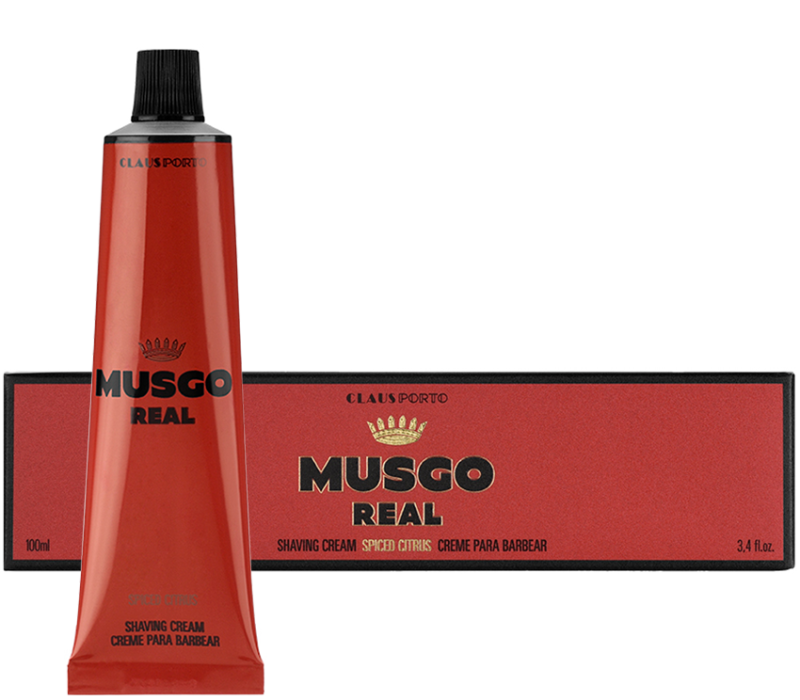 Musgo real - Spiced citrus scheercreme 100ml