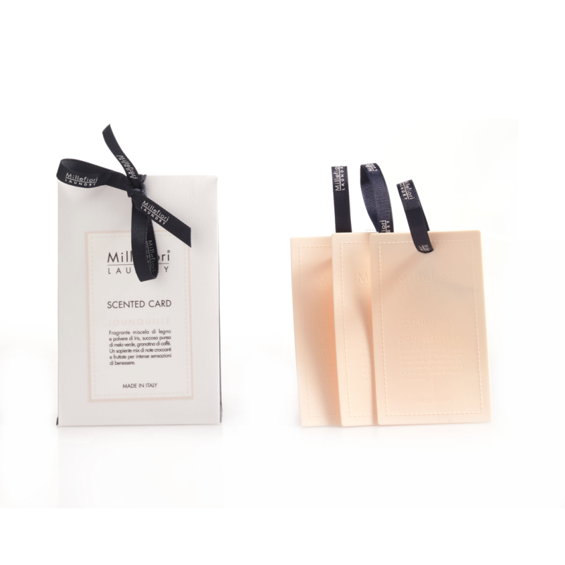 Scented Card Jounquille