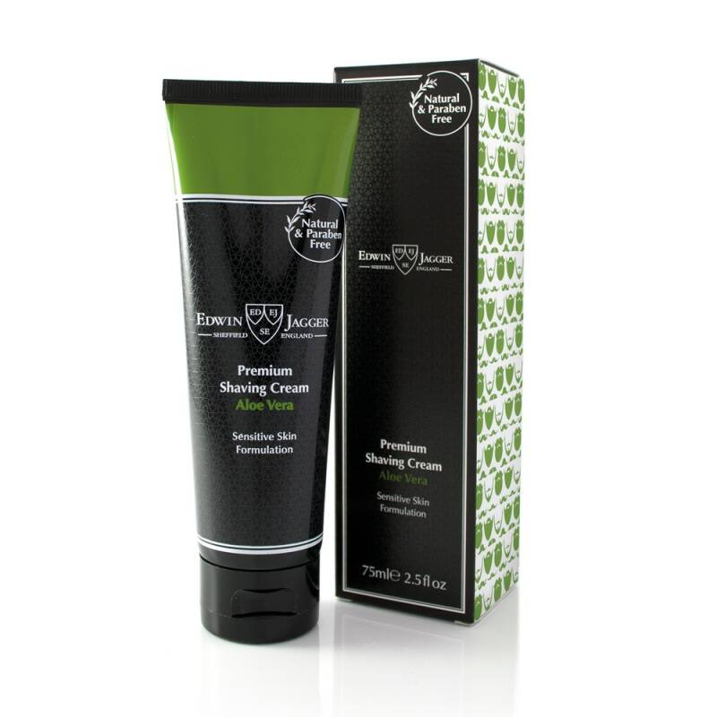 Shaving cream, Aloe Vera, 75 ml