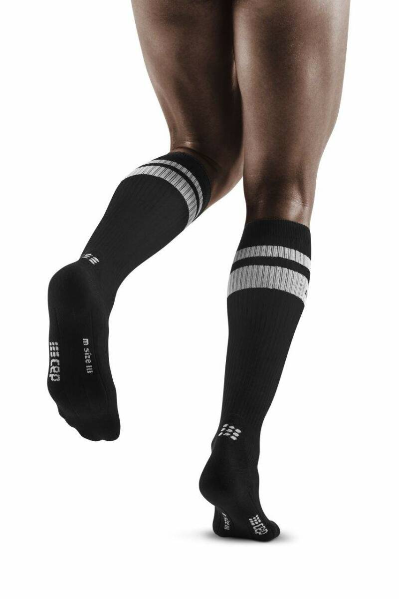 CEP 80'S COMPRESSION SOCKS WOMEN ZWART