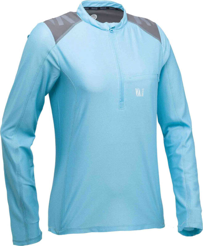RAIDLIGHT T-SHIRT TECHNICAL SHIRT LS DAMES (LICHT BLAUW)