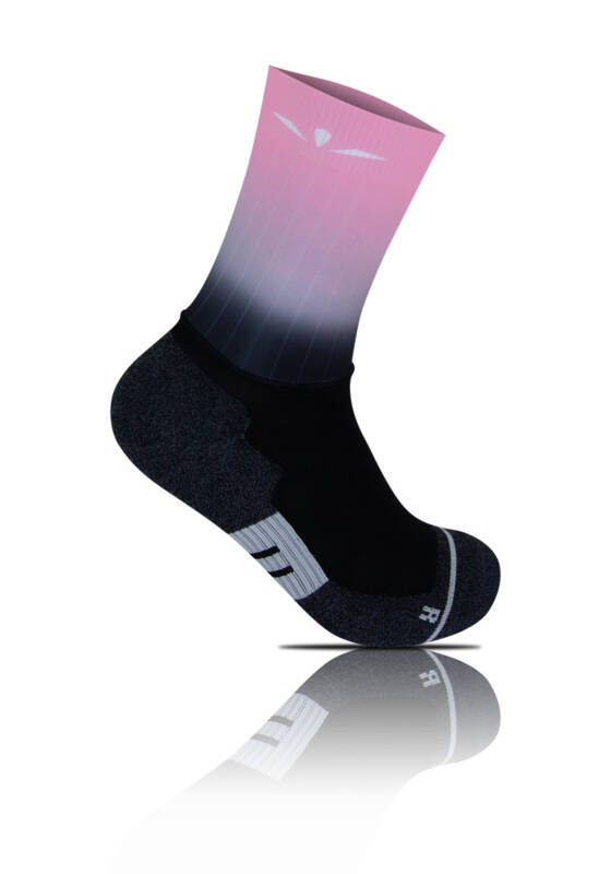 UGLOW GRIP SOCK GRADIENT PINK