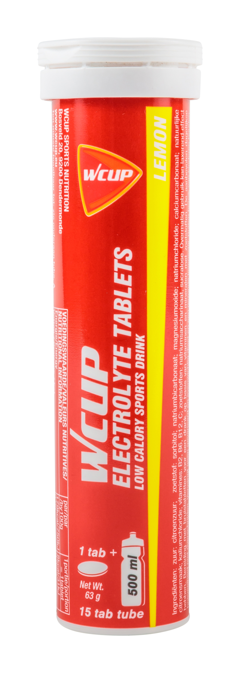 Wcup ELECTROLYTE TABLETS LEMON