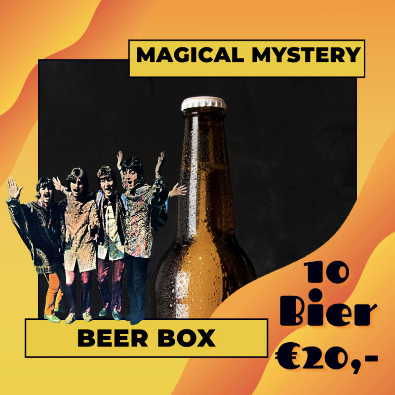 Magical Mystery Beer Box