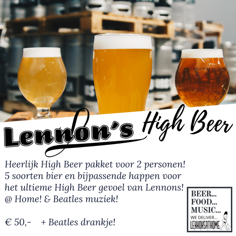 Lennons High Beer (2personen)