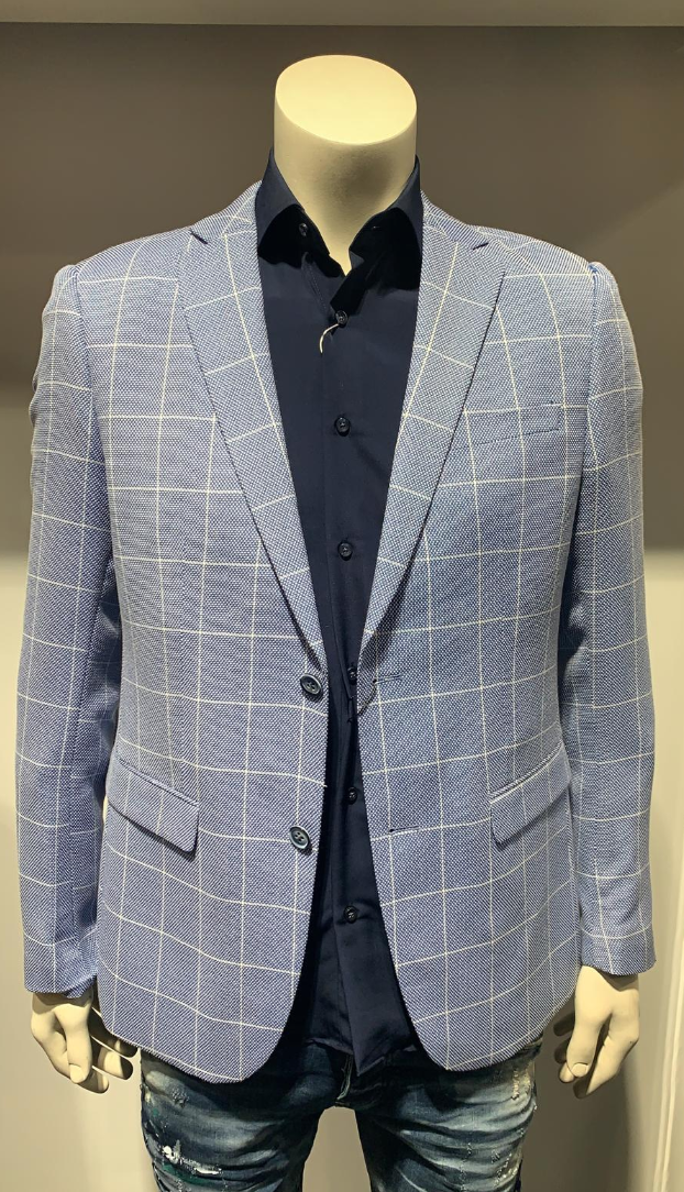 BLAZER BLUE/WHITE