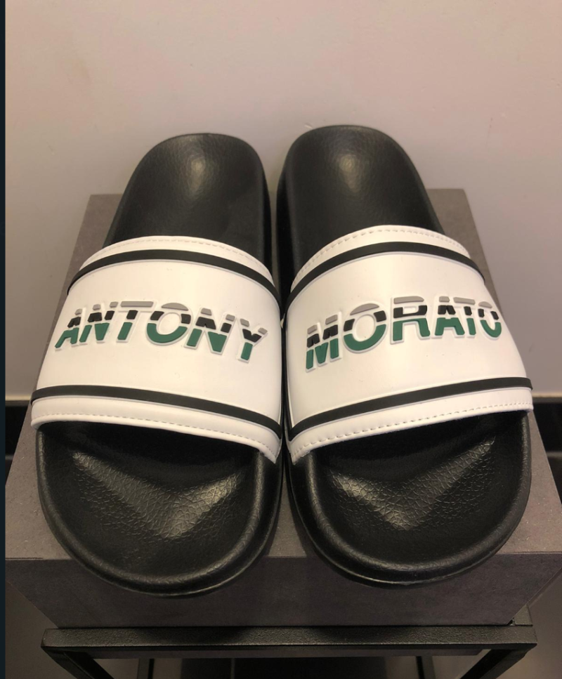 ANTONY MORATO SLIPPERS WHITE/GREEN