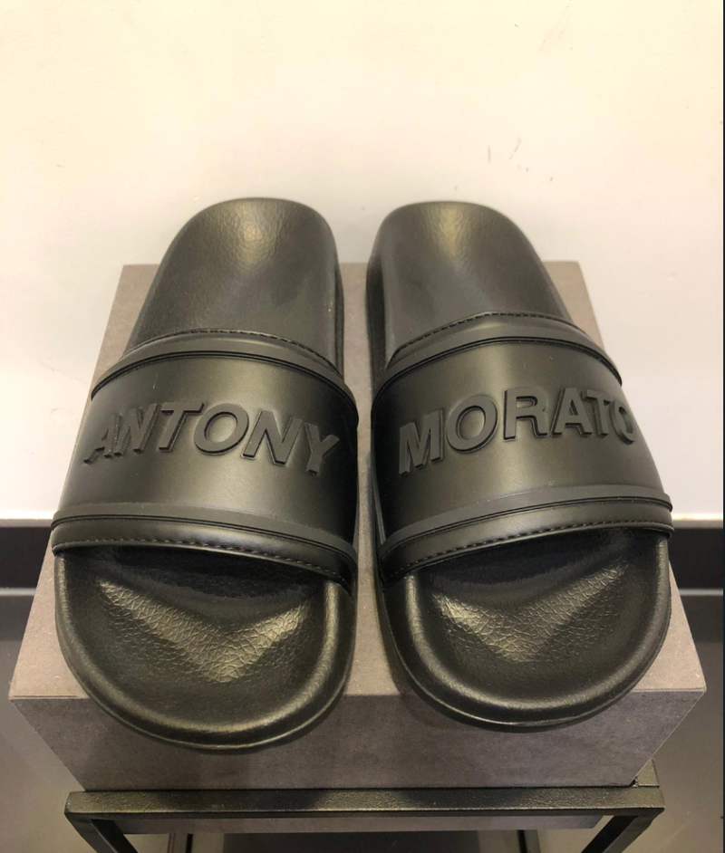 ANTONY MORATO SLIPPERS BLACK