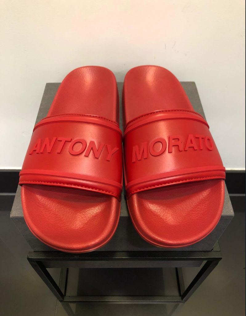 ANTONY MORATO SLIPPERS RED